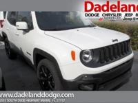 This outstanding example of a 2017 Jeep Renegade