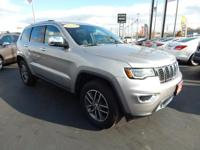 Options:  2017 Jeep Grand Cherokee Limited|Limited|4D