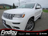 Ivory 2017 Jeep Grand Cherokee Summit 4WD 8-Speed