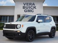 For a smoother ride, opt for this 2017 Jeep Renegade