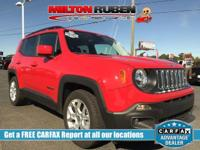 This 2017 Jeep Renegade 4dr FWD features a 2.4L 4
