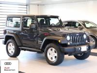 Check out this gently-driven 2017 Jeep Wrangler we