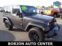 Options:  2017 Jeep Wrangler Sport|Gray|Willys Wheeler!