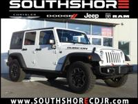 CARFAX One-Owner. Clean CARFAX. 2017 Jeep Wrangler