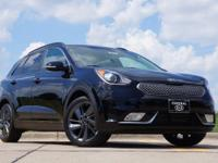 Our 2017 Kia Niro EX presented in Aurora Black Pearl is