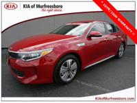 CARFAX One-Owner. Clean CARFAX. Certified. Red 2017 Kia