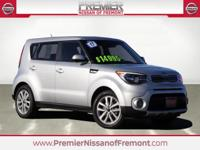 CARFAX One Owner. Clean CARFAX. Titanium Gray 2017 Kia