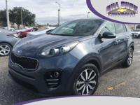 Loaded 2017 Sportage EX with remaining factory