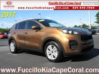 This outstanding example of a 2017 Kia Sportage LX FWD