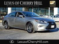 2017 Lexus ES 350 Certified. CARFAX One-Owner. Atomic