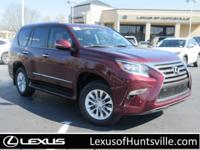 L/Certified 2017 Lexus GX460, Navigation, Heated and