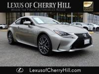 2017 Lexus RC 300 F Sport Certified. CARFAX One-Owner.