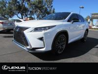 The F SPORT takes the RX 350's refined luxuries