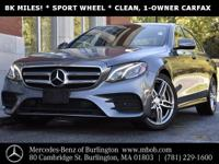 4MATIC! Unbelievably Low Mileage! Gorgeous Color