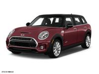 New Arrival to the Certified Pre Owned Inventory!  MINI