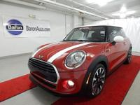 *ONE OWNER - CERTIFIED - COLD WEATHER* This MINI