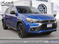 Our Accident-Free, One-Owner 2017 Mitsubishi Outlander