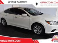 This 2017 Nissan Altima 4dr S features a 2.5L 4