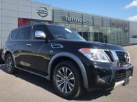 CARFAX One-Owner. Certified. 2017 Nissan Armada SL