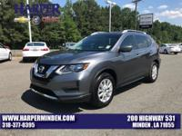 Gun Metallic 2017 Nissan Rogue SV FWD CVT with Xtronic
