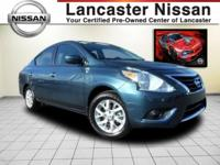 It's time to step up to our 2017 One Owner Nissan Versa