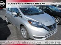 2017 Nissan Versa Note SV INCLUDES WARRANTY, REMAINDER