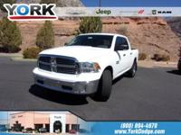 CARFAX One-Owner. Clean CARFAX. White 2017 Ram 1500 4WD
