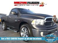 This 2017 Ram 1500 2dr Big Horn 4x2 Regular Cab 6'4 Box