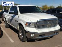 Bright White Clearcoat 2017 Ram 1500 Laramie 4WD