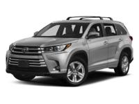 This 2017 Toyota Highlander Limited Platinum is proudly