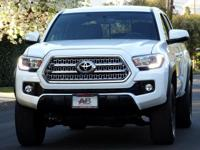 THIS DURABLE LOW MILEAGE 2017 TOYOTA TACOMA DOUBLE CAB