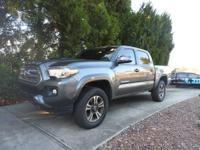 We are excited to offer this 2017 Toyota Tacoma. Your
