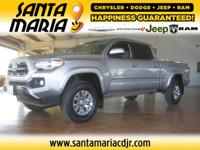 Options:  2017 Toyota Tacoma 6&Apos; Bed V6 4X4|One
