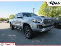 We are excited to offer this 2017 Toyota Tacoma. CARFAX