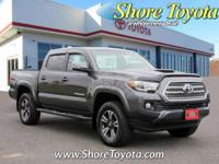 4WD, CarFax One Owner! This Toyota Tacoma is CERTIFIED!