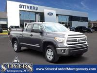 CARFAX One-Owner. Clean CARFAX. Gray 2017 Toyota Tundra