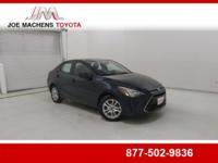 CARFAX One-Owner. Blue 2017 Toyota Yaris iA FWD 6-Speed