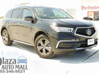 Recent Arrival! Certified. 2018 Acura MDX 3.5L AWD