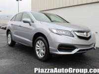 Silver 2018 Acura RDX Technology Package AWD AWD 3.5L
