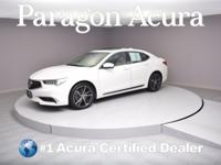 New Price! Certified. 2018 Acura TLX 2.4L CARFAX