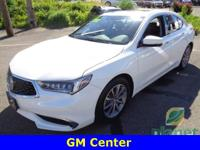 This is a one owner Acura TLX with low miles, kept in