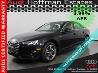 MSRP $49,115 -- 3.99% APR.. AND AN AUDI CERTIFIED 5YR
