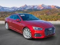 FUEL EFFICIENT 34 MPG Hwy/24 MPG City! Audi Certified,