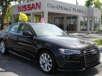CARFAX One-Owner. Black 2018 Audi A6 2.0T Premium
