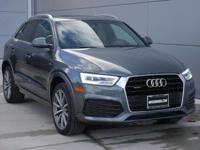 Options:  2018 Audi Q3 Premium Plus|Gray/|V4 2.0 L