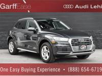 AUDI CERTIFIED PRE-OWNED ONE OWNER Q5 PREMIUM W/ ONLY