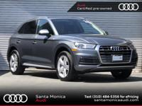 Certified. 2018 Audi Q5 2.0T Premium quattro Monsoon