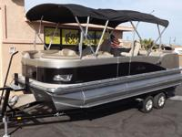 2018 Avalon Catalina Quad Lounge 23' - Tritoon Please