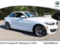 2018 BMW 2 Series 230i 35/24 Highway/City MPG  Options: