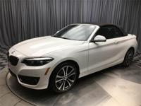 Alpine White 2018 BMW 2 Series 230i xDrive AWD 8-Speed